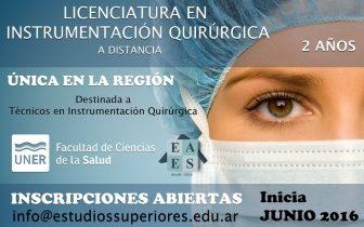 Lic en instrum quirurgica chico