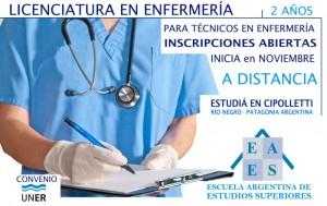 LICENCIATURa en enfermeria CHICO